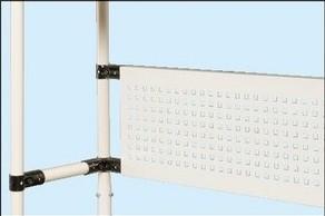 作業台用 オプション パンチングパネル W940×D31×H250mm【SPK-12P】