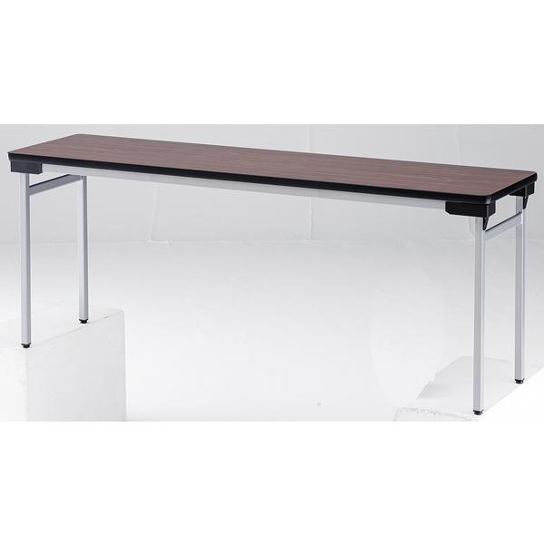 折り畳みテーブル【棚無】ワイド脚タイプ 幅1800mm×奥行450mm×高さ700mm【TFW-1845N】