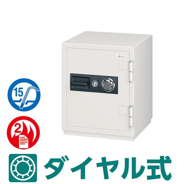 CSGシリーズ 耐火 防盗金庫 100万変換ダイヤル式 耐ドリルシリンダー仕様 55リットル【CSG-65】