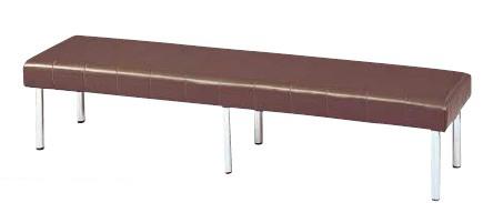 ロビー用ベンチ MC-7286 幅1800×奥行き460×座の高さ385mm【MC-7286】