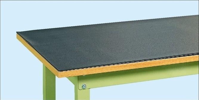 作業台用 オプション 作業台用 PVCマット(片面すべり止め加工) W1500×D750×t5mm【RM-157M】
