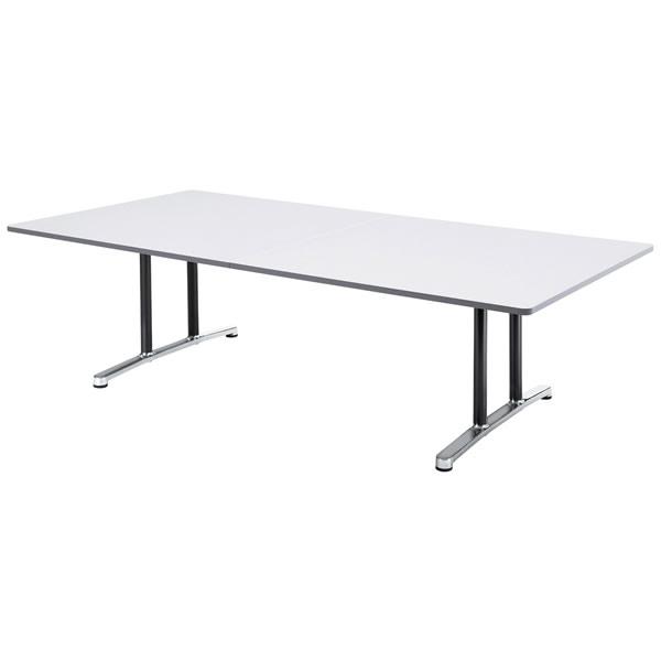 ミーティングテーブル・会議テーブル/ WALテーブル 【角形・幅2400×奥行き1200mm】【WAL-2412K】