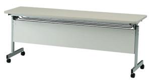 会議テーブル FHKシリーズ パネル付 幅1500×奥行き450×高さ700mm 6色対応【FHK-1545P】