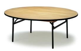 宴会用テーブル・レセプションテーブル FRTシリーズ 円型 ハカマ付 直径2000×高さ700mm【FRT-200R】