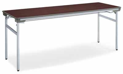 コクヨ 会議用テーブル KT-140シリーズ 脚折りたたみ式 会議用テーブル 棚付き 幅1500×奥行き450×高さ700mm【KT-S143N】