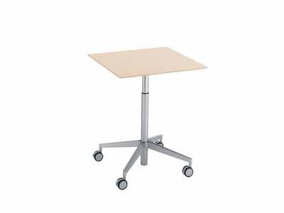 コクヨ ビューライズ 可動脚タイプ テーブル 幅700×奥行き700×高さ675~1050mm【MT-500-C】
