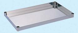 ステンレス ニューパールワゴン オプション棚板(ライトタイプ用) 適合機種PBR4タイプ 幅600×奥行き400×高さ50mm【PB4-1SU】