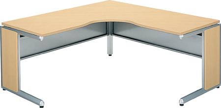 コクヨ オフィスデスク・フレスコ L型テーブル ロングリターン 幅1600×奥行き1600【SD-FRL1616LP81P1MN】