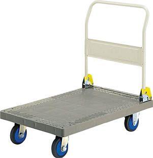 コクヨ 樹脂製手押車(ハンドル折りたたみ式) 積載量/120kg【TK-P10N】