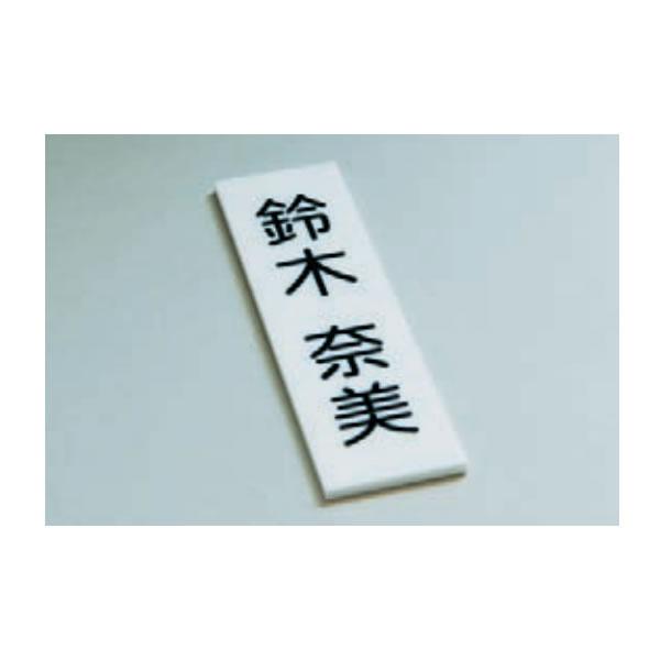 アクリルプレート 40×100mm 10枚セット (8文字程度のカット文字貼り費用込み)【UJ-AKURIRU】