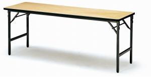 軽量折りたたみテーブル アルミ脚 棚なし 幅1800mm×奥行き600mm 重量16.0kg【ATS-R1860】