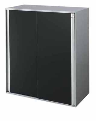 コクヨ アルティス2 キャビネット 下置き 高さ1020mmタイプ 2枚引き違い戸 パンチングタイプ 幅900×奥行き450mm【BWF-SHD59PP81】