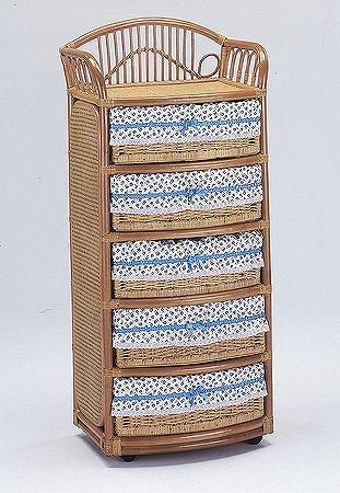 Laundry box ランドリー 3杯タイプ E-270 幅60×奥行き44×高さ133cm【I-E-270】