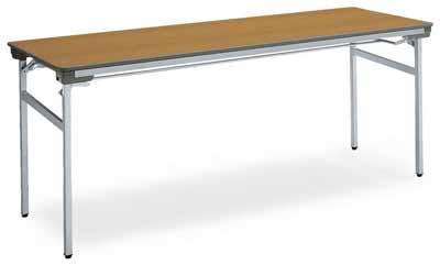 コクヨ 会議用テーブル KT-140シリーズ 脚折りたたみ式 会議用テーブル 棚付き 幅1800×奥行き600×高さ700mm【KT-S141N】