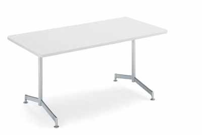 コクヨ イートイン シリーズ テーブル リフレッシュテーブル T字脚 高さ700mmタイプ 天板寸法 幅1200×奥行き800mm メラミン化粧板 塗装脚【LT-410】