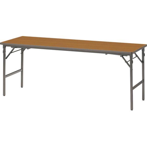 座卓兼用テーブル B-1860 チーク 幅1800×奥行き600×高さ700・320mm【1-385-0413】