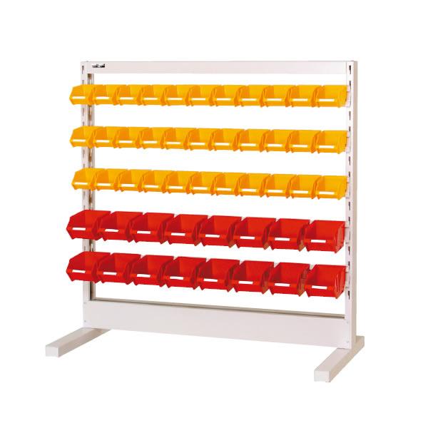 パーツハンガー 間口1200サイズ 移動式 片面用 幅1193×奥行き575×高さ1331mm【YAMA-HPK-1213C-Y】