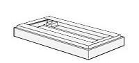 【最大3年保証】コクヨ エディア 収納システム オプション 笠木 幅450×奥行き450×高さ100~180mm【BWU-U15N】