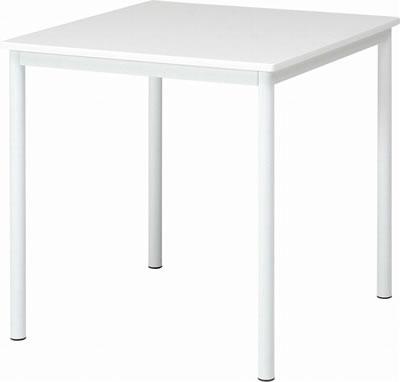 ダイニングテーブル 【シュクル】 幅75cm ホワイト(84132)【F-84132】