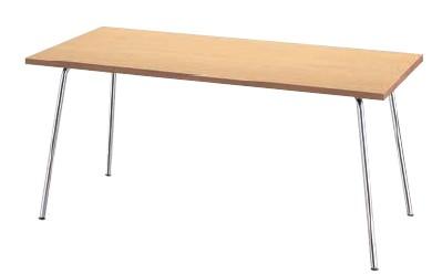 会議用テーブル KLM型  幅1500×奥行き750mm【KLM1575-WA】