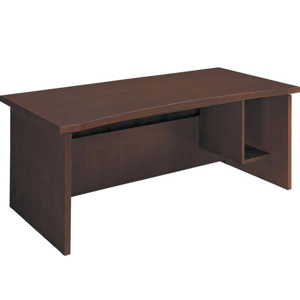 コクヨ 役員室用家具 マネージメント30シリーズ パソコン対応テーブル 幅1600 カラー(ローズウッド)【MG-3DF1RN3】