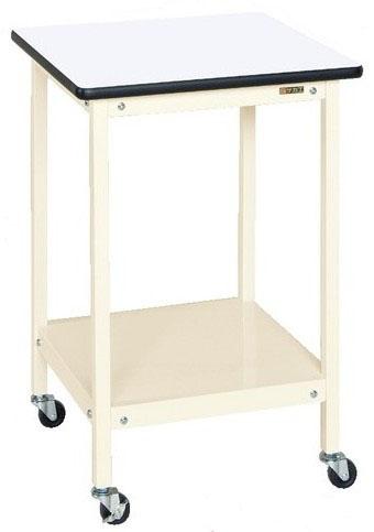 サポートテーブル キャスター付き W500×D500×H600mm 耐荷重:50kg【SRT-500RI】