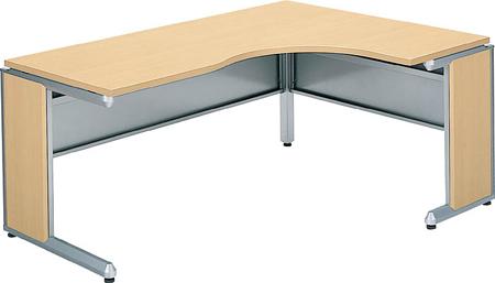 コクヨ オフィスデスク・フレスコ L型テーブル ショートリターン 幅1600×奥行き1200【SD-FRLR1612LP81P1M】