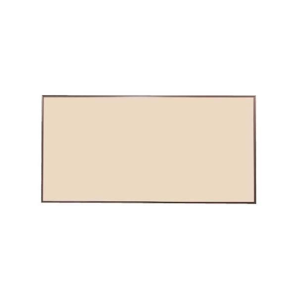 ツーウェイ掲示板 カラーアルミ枠 ピン・マグネットタイプ 910×610mm【KB23C】