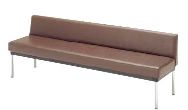 ロビー用ベンチ MC-7A 幅1820×奥行き460×高さ610×座の高さ400mm【MC-7A】