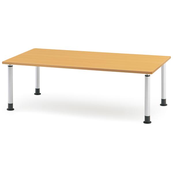 【福祉】介護用テーブル アジャスタータイプ 幅1500mm×奥行750mm×高さ660mm~800mm【MKT-1575】