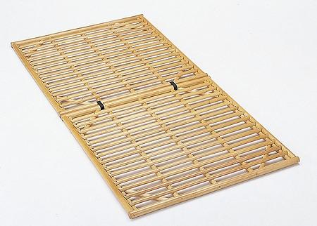 Bed すのこベッドロータイプ シングルサイズ【I-Y-910】