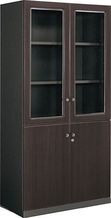 コクヨ 役員室用家具 マネージメント50シリーズ 両開き書棚【MG-5BNN】
