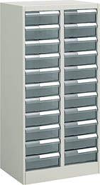 コクヨ 書類整理庫 トレーユニット 高さ1060mm 2列深型11段 A4縦型【S-A422F1N】