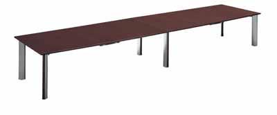 コクヨ 大型会議テーブル WT-150シリーズ 会議用テーブル ボート型天板 幅4800×奥行き1200×高さ700mm【WT-W159N】