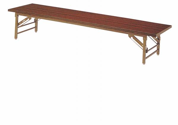 折畳み座卓 共張り 幅1500×奥行450mm 国産品【YKZ-1545】