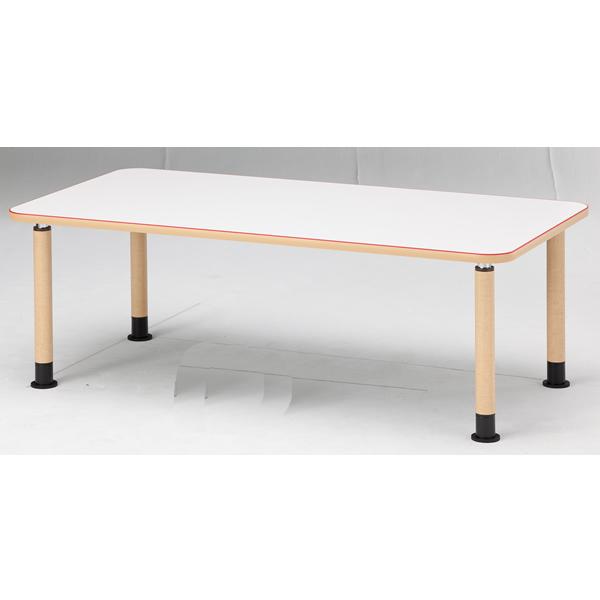 【福祉】介護用テーブル 角型テーブル(アジャスタータイプ) 幅1800mm×奥行900mm×高さ600mm~800mm【MK-1890】