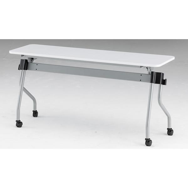 フォールディングテーブル パネル無し 幅1500mm×奥行450mm×高さ720mm【NTA-N1545】