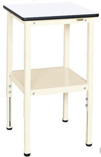サポートテーブル 高さ調整タイプ W500×D500×H660~860mm 耐荷重:50kg【TSRT-500I】