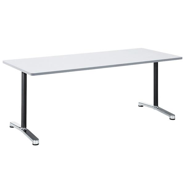 ミーティングテーブル・会議テーブル/ ALテーブル 【角形・幅1800×奥行き750mm】【AL-1875K】