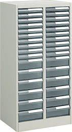 コクヨ 書類整理庫 トレーユニット 高さ1060mm 2列浅型10段 深型6段 A4縦型【S-A432F1N】