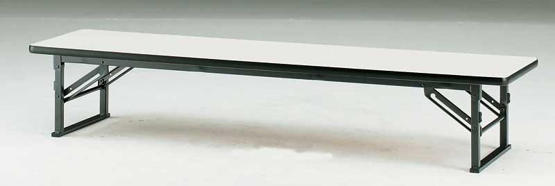 折りたたみ座卓テーブル ソフトエッジ 幅1800mm×奥行き750mm【TES-1875】