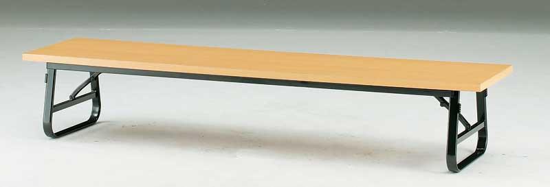 折りたたみ座卓テーブル 共貼り 幅1800mm×奥行き600mm【TU-1860】