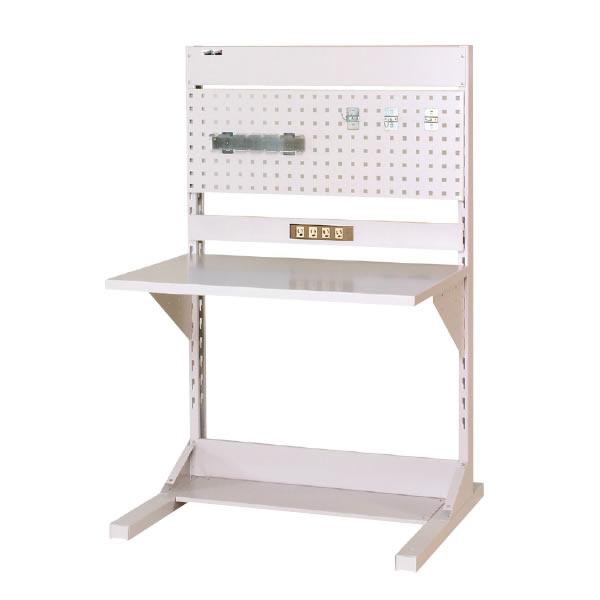 ラインテーブル 間口900サイズ 基本タイプ 両面用 幅893×奥行き1275×高さ1405mm【YAMA-HRR-0913-PC】