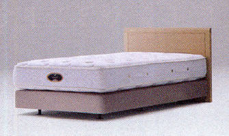 シモンズ ベッド/アーグ DCダブルクッションタイプ(ダブルサイズ・2box) ヘッドボード+ボックスプリングのみ マットレス別【DC-AURG-DF-2BOX】