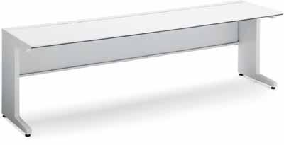 【最大3年保証】コクヨ iSデスクシステム スタンダードテーブル 幅1200×奥行き750mm 引き出しなし【SD-ISN1275LS】