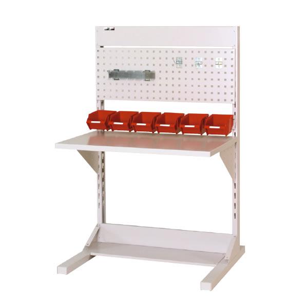 ラインテーブル 間口900サイズ 基本タイプ 両面用 幅893×奥行き1275×高さ1405mm【YAMA-HRR-0913-PY】