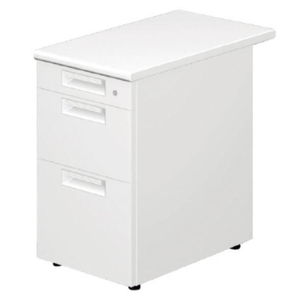 LEED Desk(リードデスク) デスクアクセサリー 脇机 D-3段 幅400×奥行700mm【LE-047D-3】