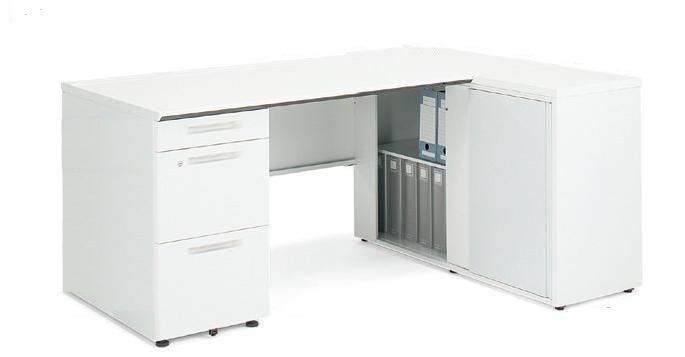 【最大3年保証】コクヨ iSデスクシステム ロング袖デスク マネージャー用(A4タイプ) 幅1600×奥行750×高さ720mm【SD-ISN1675CARSNN】