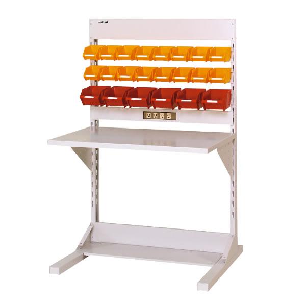 ラインテーブル 間口900サイズ 片面・連結用 幅893×奥行き825×高さ1405mm【YAMA-HRK-0913R-YC】