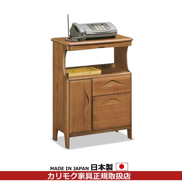 カリモク 電話台・ファックス台/玄関ボード ファックス台 幅631mm【AT1441HP】